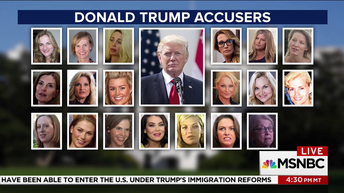 Image result for trump's accusers msnbc