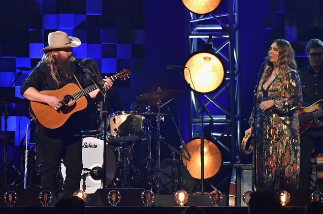 """.@ChrisStapleton's """"From A Room"""" trio makes it to the Top Country Albums top five https://t.co/N7fmn9aEE4 https://t.co/KJvIzSJ9cz"""