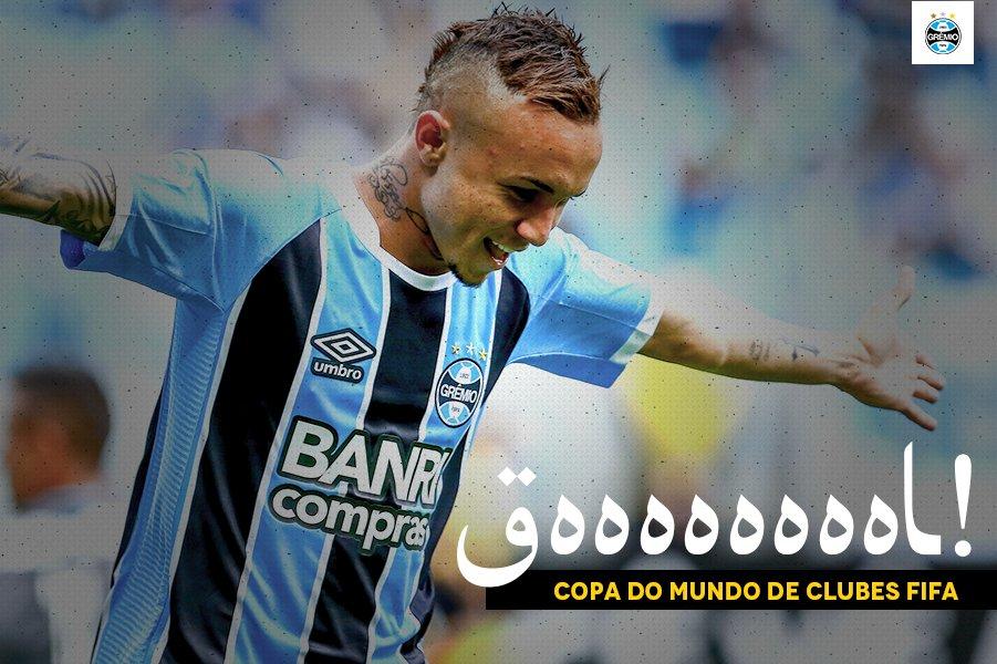 QUE GOLAÇO!!! EVERTON CEBOLINHA!!! TÁ FORMADO O DESCONTROLE NO MUNDIAL!!! Grêmio 1x0 Pachuc #ClubWCa  🇪🇪🇦🇪💪🏽⚽ #NósVamoAcabáComOPlaneta️🏆