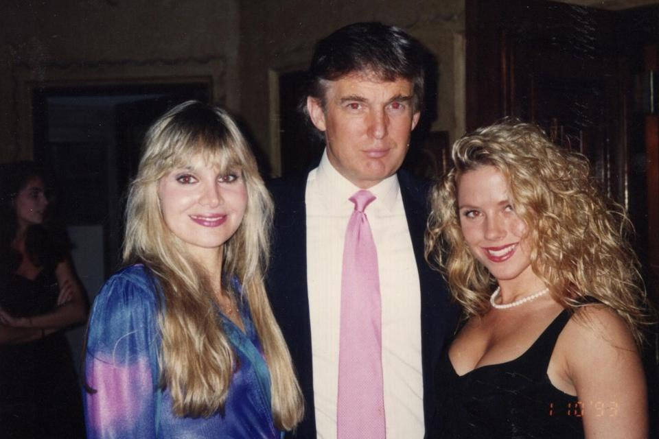 "President Trump says his accusers are ""women who I don't know and/or have never met."" Here is a photo of him with Jill Harth. And he never denied knowing her, in court depositions or an interview with me."