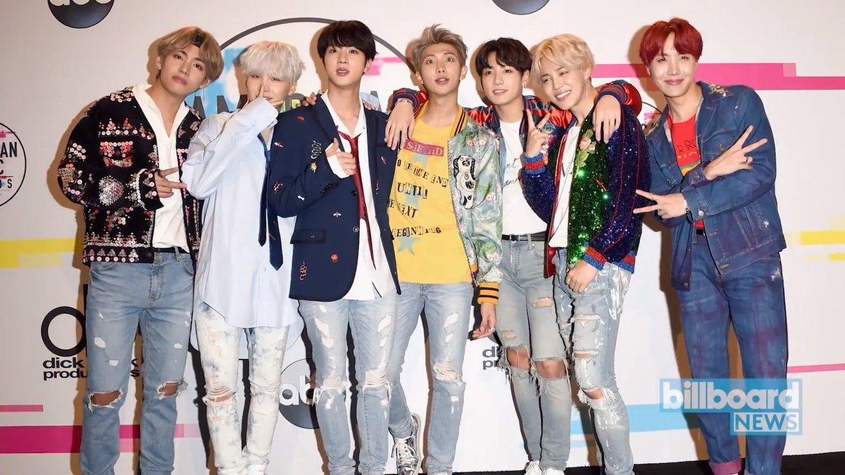 Congrats, BTS! #BillboardNews https://t....