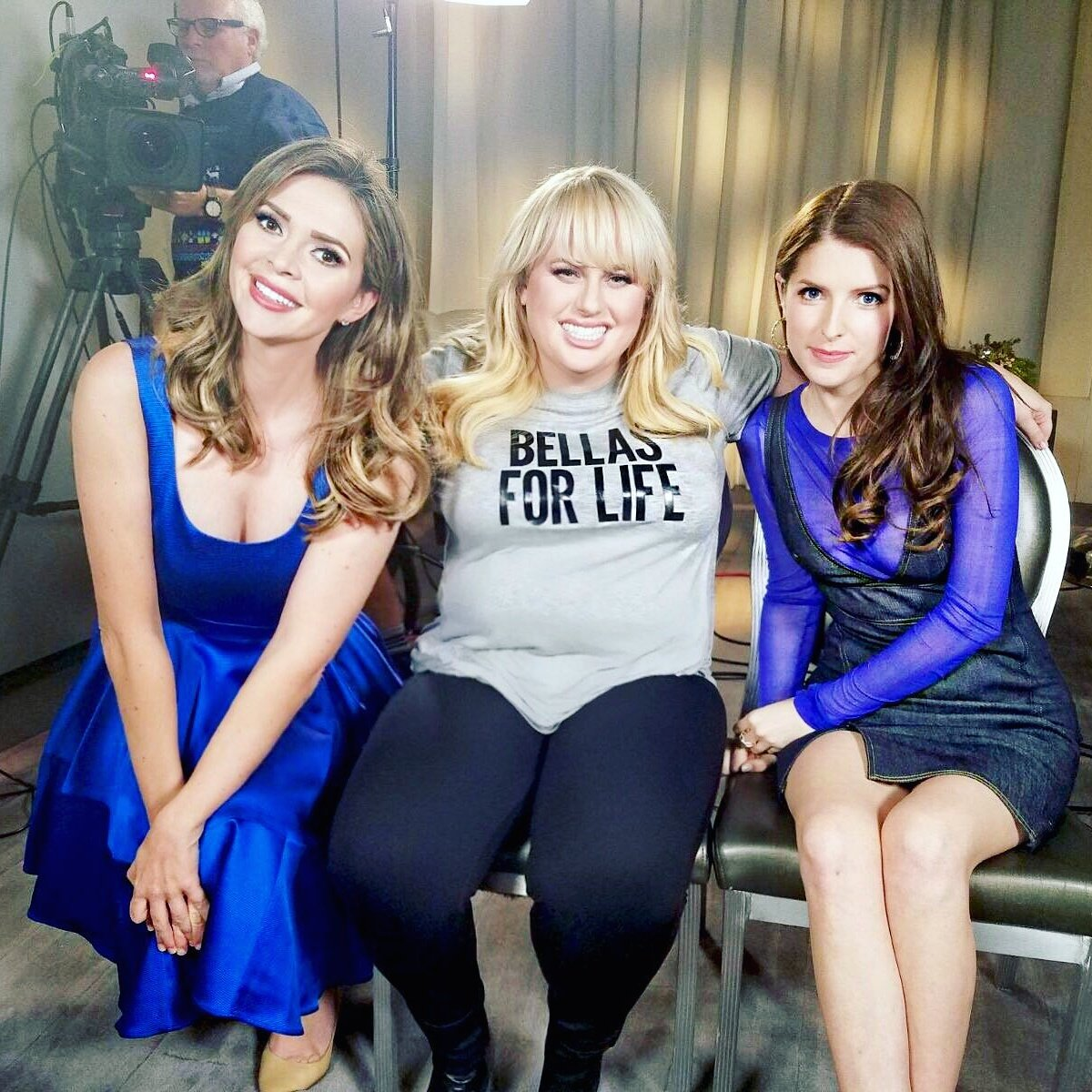 RebelWilson & @AnnaKendrick47 kick ass in @PitchPerfect. #BellasForLife  (except my singing sounds like Julia Roberts in the bath in Pretty Woman!)