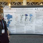 The High Plains Aquifer is being heavily pumped for irrigation. @HydroHaacker has analyzed how this has changed the boundaries of the aquifer as we know it. Come see her poster at #AGU17!