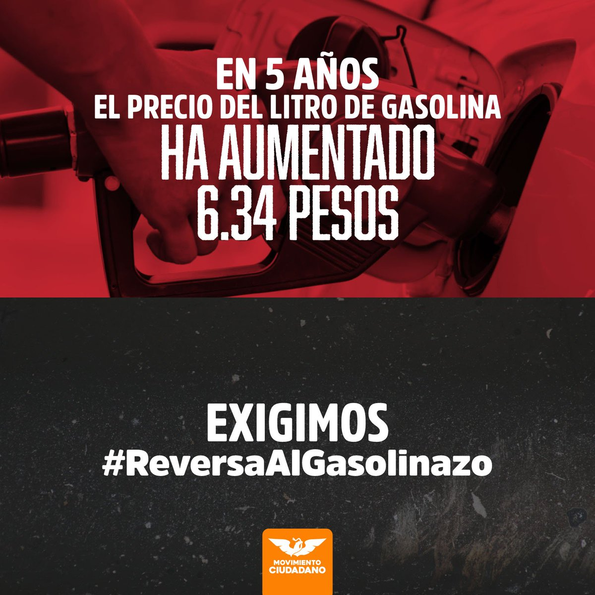 #ApenasEmpezóElAñoYYa subió la gasolina. Nosotros propusimos reducir el IEPS para dar #ReversaALGasolinazo y el régimen congeló la iniciativa. https://t.co/Ltmmd4p1X9