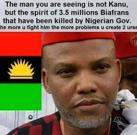 He has sacrifice everything for the #freedom of his people &amp; he must live to see #Biafra nation. @Amaka_Ekwo @NkirukaNistoran @EmekaGift . <br>http://pic.twitter.com/pWCjbpoJkN