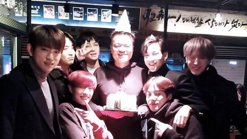 #GOT7 Surprises Park Jin Young For His Birthday https://t.co/jGBXD3e9IS https://t.co/ScG7NahDAQ