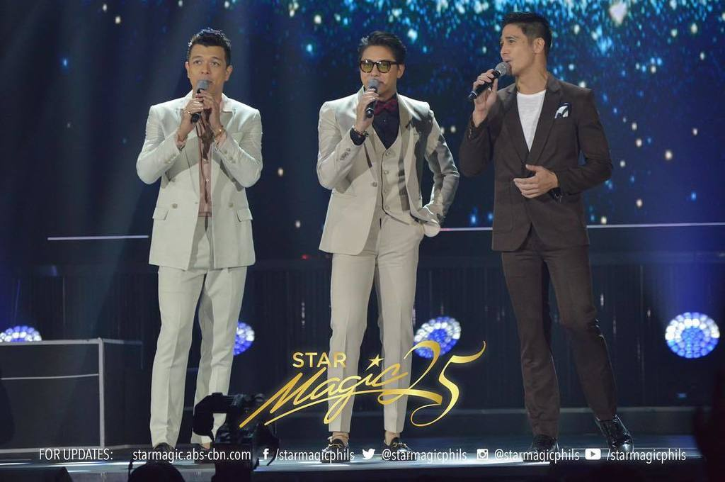 Jericho, Daniel and Piolo #JustLoveChris...