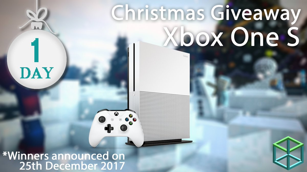 An Xbox One S To Enter Simply Follow Uake Sure You Like And Rt This The Winner Will Be Announced On Christmas Day Pic Twitter Com F6hd4hqifh