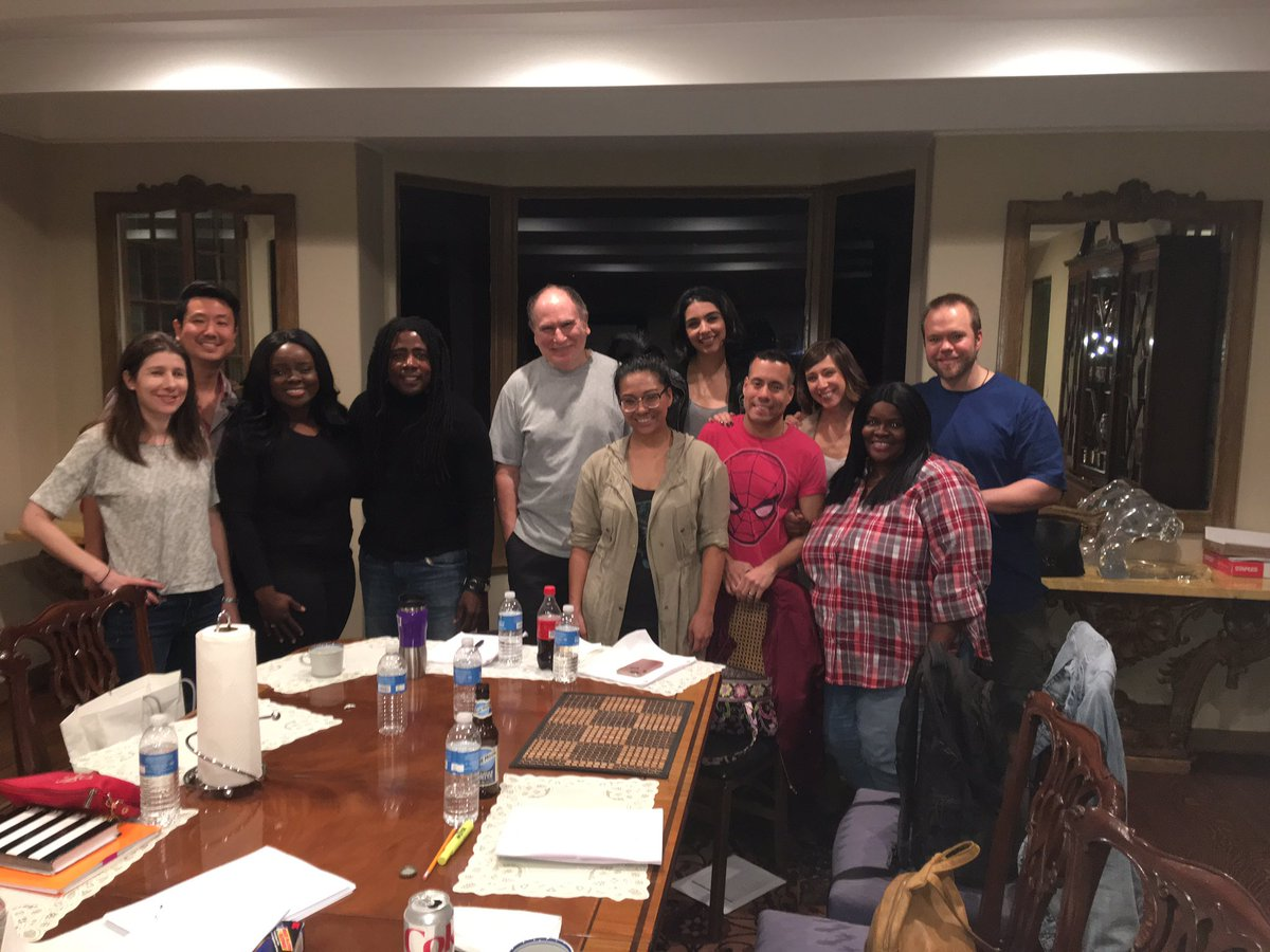 """Dinner and a table read with our gracious host, Gabe Kaplan from the iconic sitcom, Welcome Back, Kotter reading the role of Morty in our new web series """"Adversity"""" coming soon. #WelcomeBackKotter #adversitythewebseries #gabekaplan<br>http://pic.twitter.com/HWrwZgkGlI"""