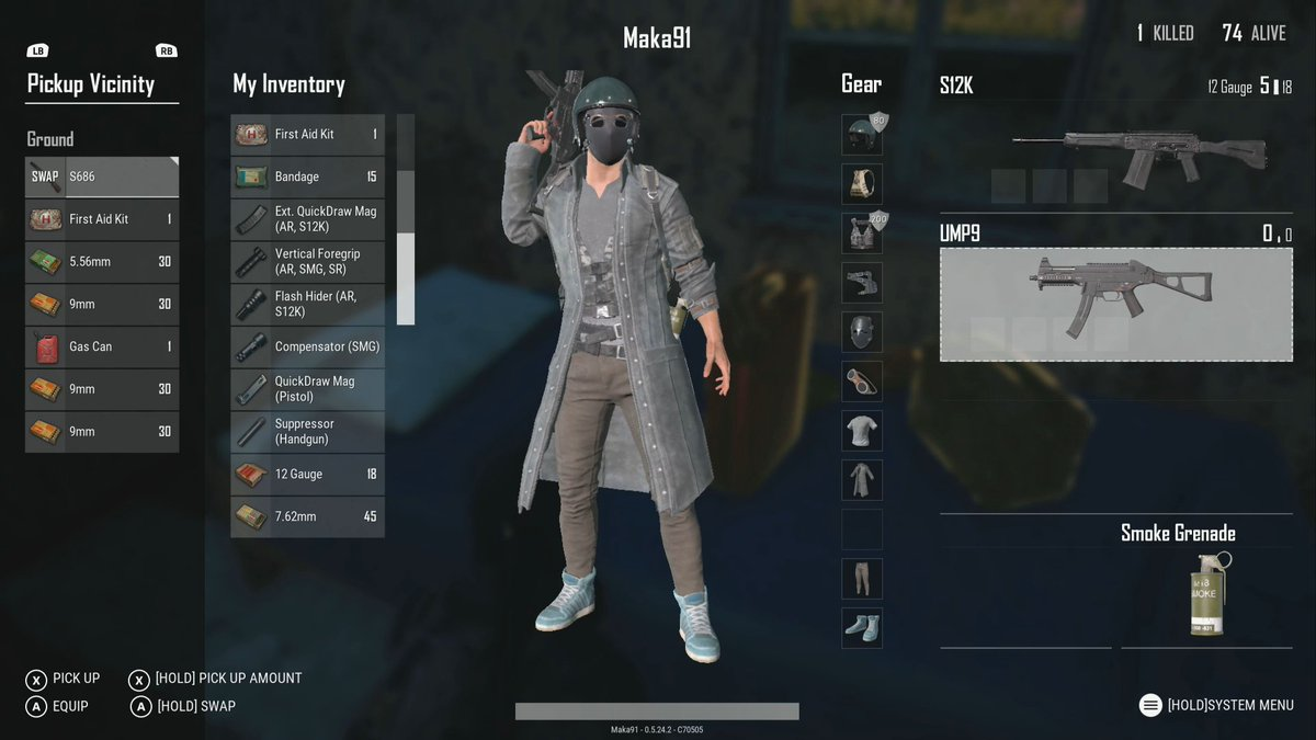 Image result for pubg inventory