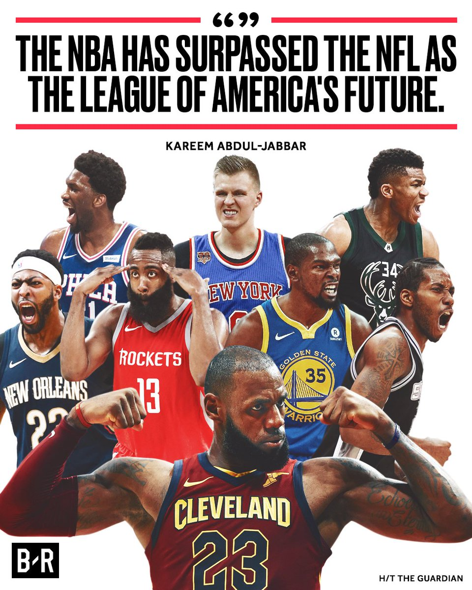 Kareem Thinks The NBA Is Americau0027s Sport.