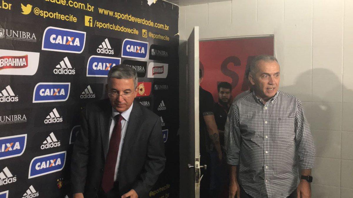 De volta ao #Sport, Nelsinho Batista se mostra ciente do desafio e afirma que está atualizado com o futebol brasileiro  https://t.co/izWH6yOOc2
