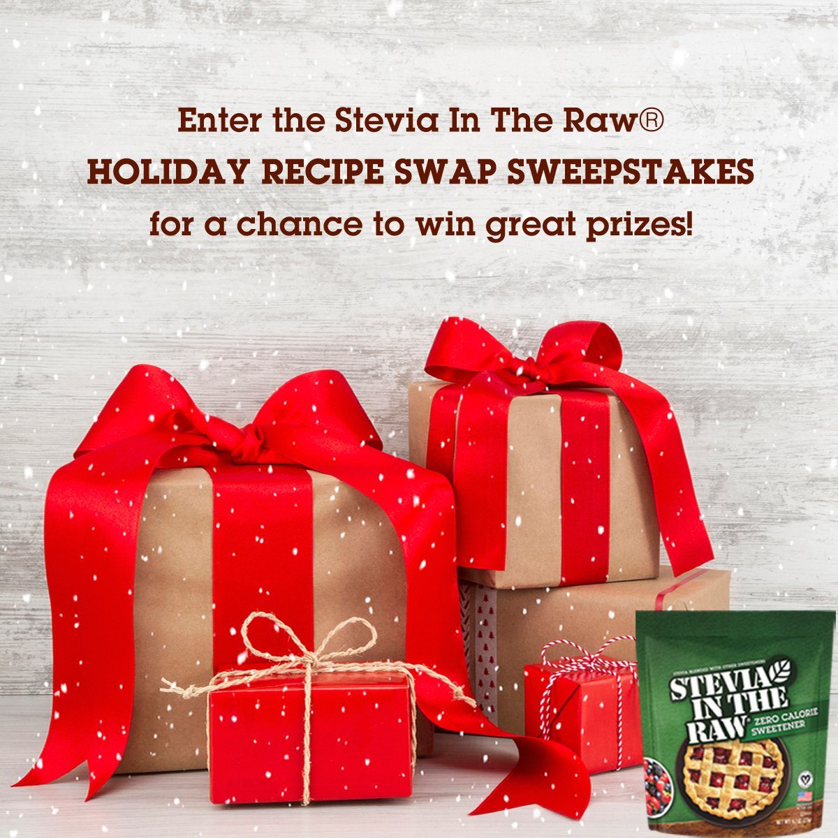 In The Raw On Twitter Enter Our Stevia In The Raw Holiday Recipe