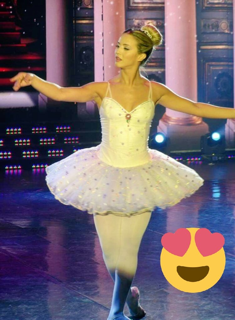 Dale rt a la bailarina de la buena suert...