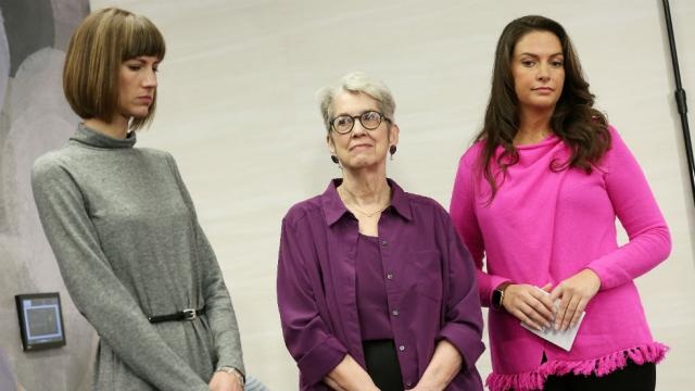 Trump accusers fire back: His denials are 'straight out of the Harvey Weinstein and Bill Cosby playbook' https://t.co/GdCWiP3I7u