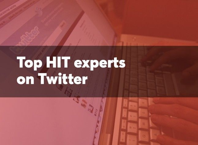 30 #HIT experts to follow on Twitter https://t.co/cVxRbivZJP #DigitalHealth