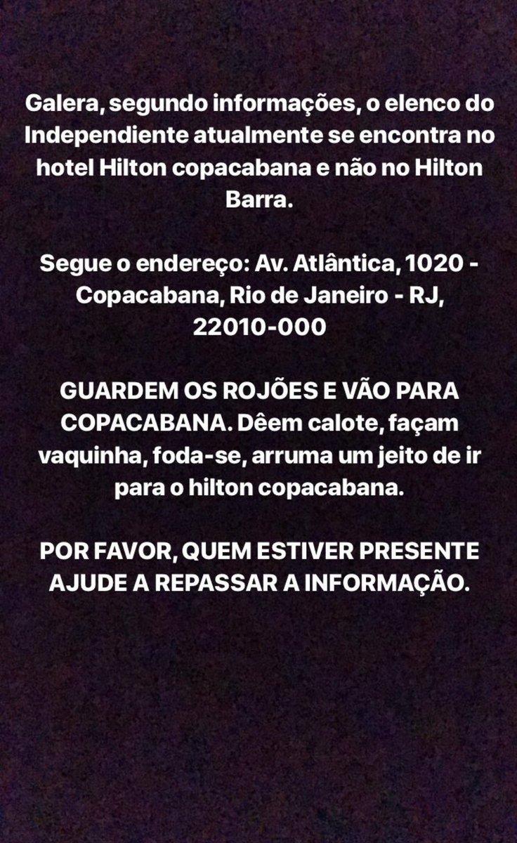 O TIME DO INDEPENDENTE ESTÃO NO HILTON D...