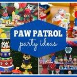 Paw Patrol Party Supplies and Ideas https://t.co/Pz8xX9h6pZ