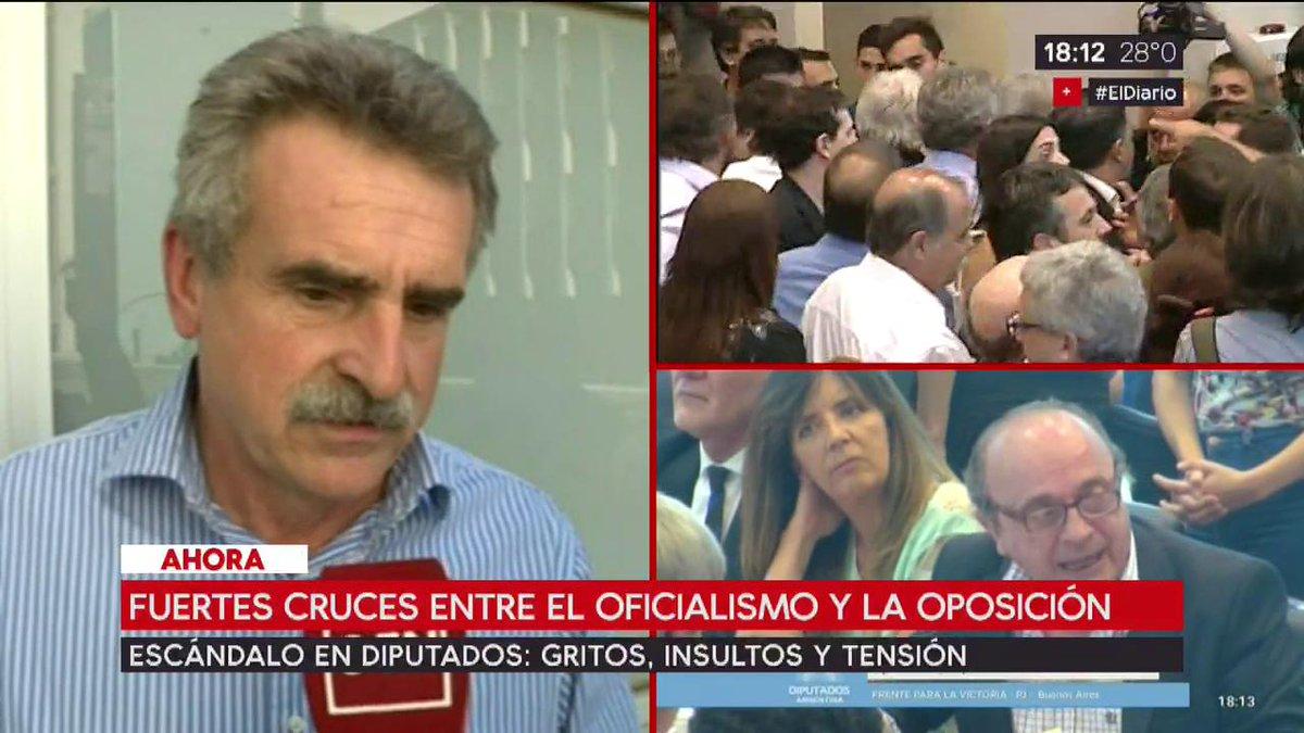 Agustín Rossi: 'Cada vez que el Gobierno...