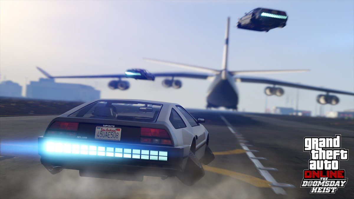 Each of the three massive Heist acts in the story of THE DOOMSDAY HEIST involve negotiating multiple ruthless Freemode prep missions, tactical setup operations, and experimental weapons & vehicles - each ending with an over-the-top finale and a big payoff https://t.co/FbXa6wmA5p
