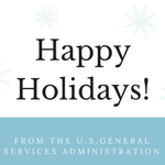 The GSA family wishes you a joyous holiday season! #HappyHolidays