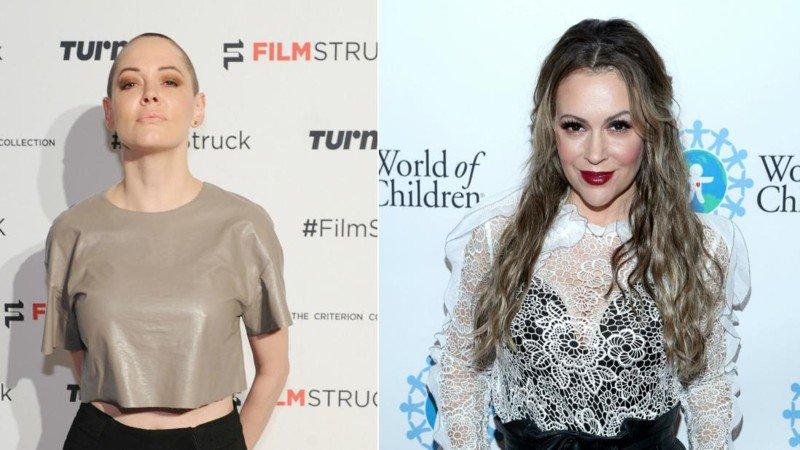 Furious Rose McGowan blasts old friend Alyssa Milano on Twitter over Weinstein's wife https://t.co/kwhteUCm1B