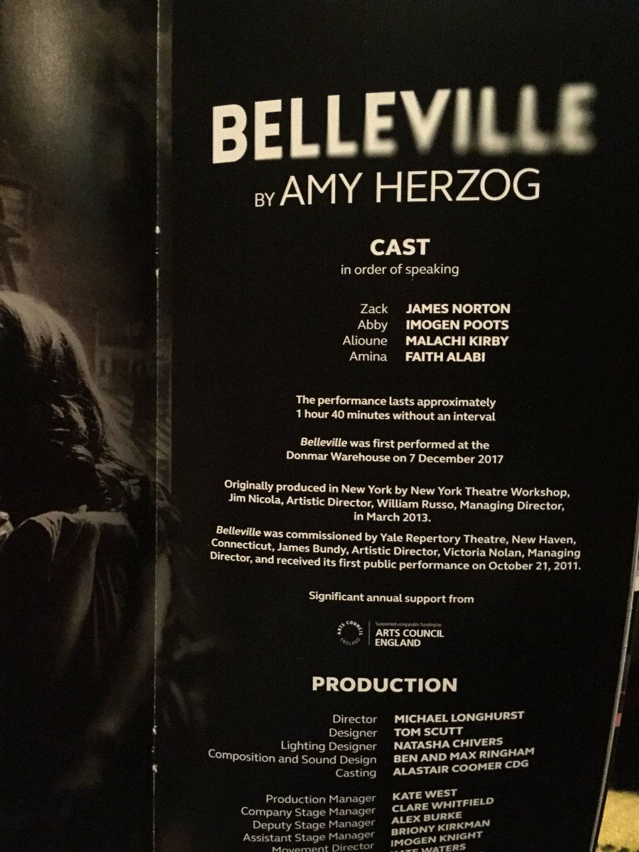 AUDIENCE RESPONSES TO BELLEVILLE