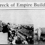 """Tuesday #Tornado #Fact! On May 27, 1931, the """"Empire Builder"""" passenger train was derailed by a tornado. The baggage car flew 80-90 feet off the tracks. Image via @_newspapers https://t.co/49qhXjAhOd - An account from the Clay County, MN Newsletter:  https://t.co/GqSHv7qZmG #mnwx"""