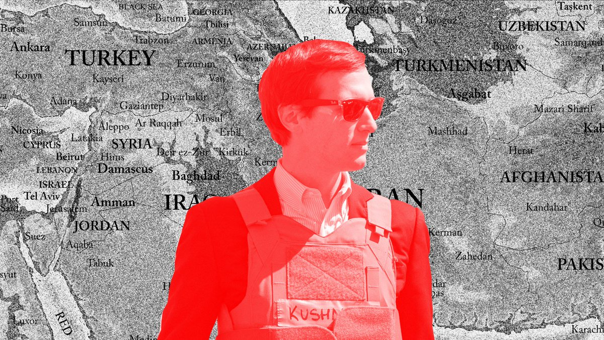 A couple more of Jared Kushner's ideas for fixing the Middle East https://t.co/HS3ypdr7kG