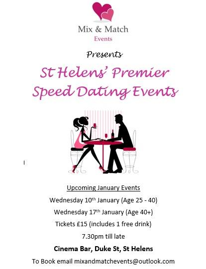 hastighet dating i St. Helens Merseyside
