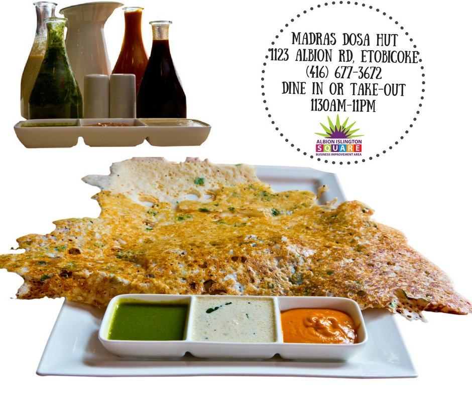 Tastytuesdsay Perfect Winter Warmup Southindian Flavors Offered At One Of Our Favorite Etobie Restaurants Madras Dosa Hut Open Until 11 Pm