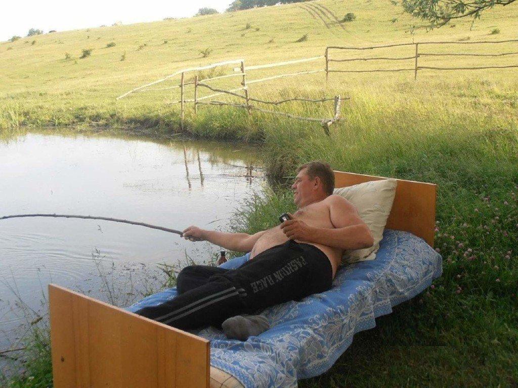 Мужик на рыбалке смешные картинки