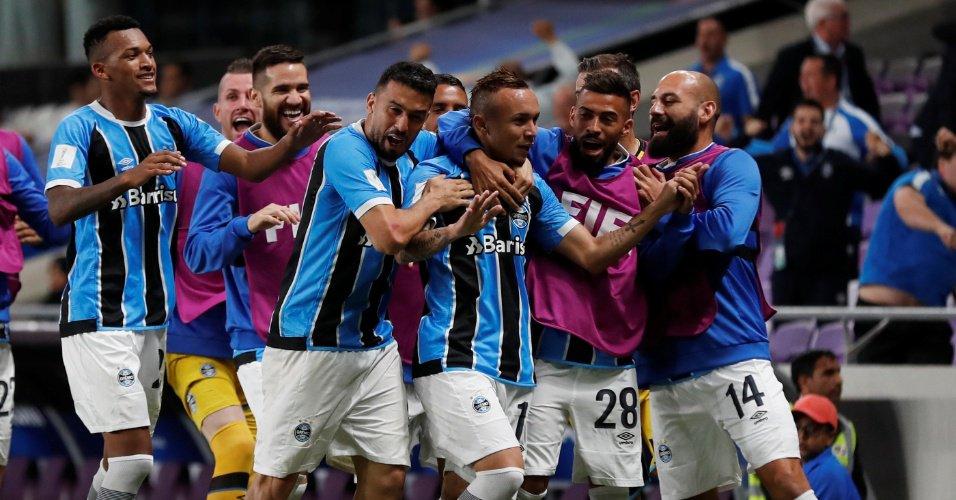 Veja os melhores momentos da vitória do Grêmio no Mundial de Clubes https://t.co/germgilPmd