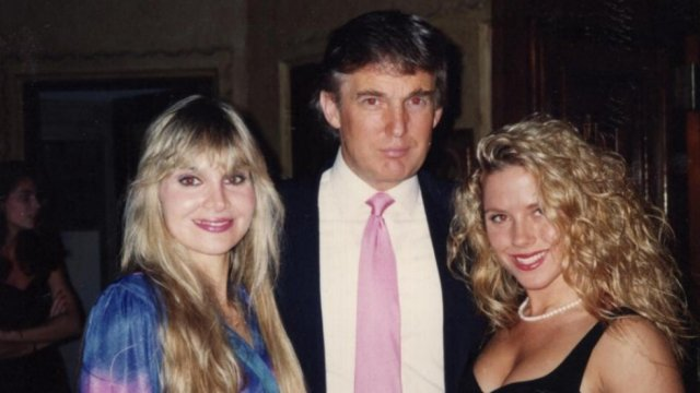 Photo, video of Trump with accusers surf...