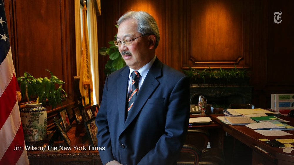 Ed Lee was a well-respected civil rights lawyer who became the first Asian-American to be elected as mayor of San Francisco https://t.co/bUEfNmqGze