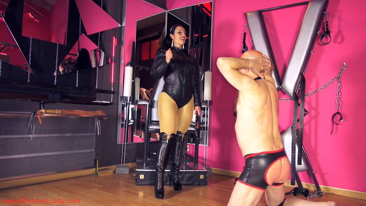 Agree, rather dominatrix whipping slave
