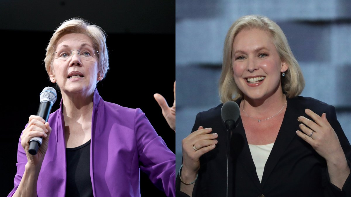 Elizabeth Warren tries to defend Kirsten Gillibrand from Trump, doesn't quite stick the landing https://t.co/xD2JF6X3N6