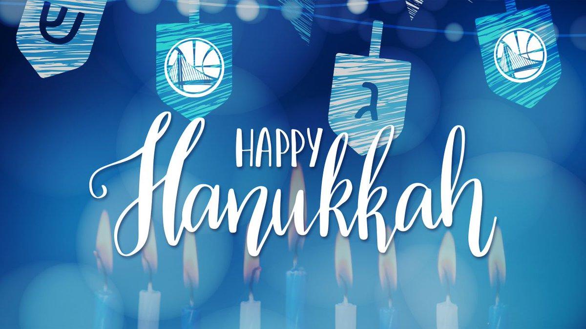 Happy Hanukkah, #DubNation!