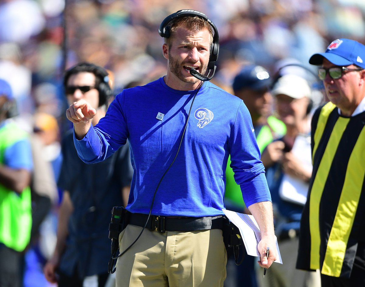 The Rams visit Seattle in a crucial divisional matchup. Got a question for Head Coach Sean McVay? Tweet us at #Ramson2 - Jim Hill will ask the best one on CBS2's Coaches Show 6:30 Sat