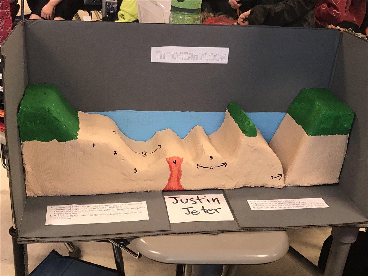 Crystal Walker On Twitter Ocean Floor Projects In 5th Grade