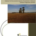 Download the report here: Economic impacts of investment in the National Landcare Program - #NaturalDecisions https://t.co/XQhcA2q7HP