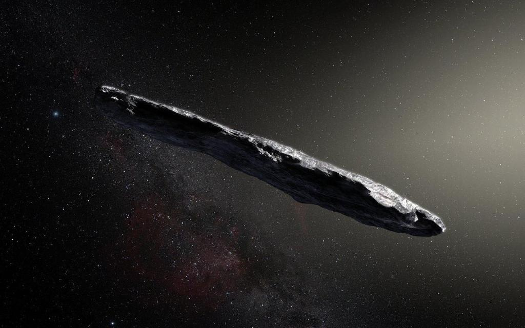 Astronomers are checking an 'alien' space rock for actual aliens https://t.co/x81idAolnn #Oumuamua
