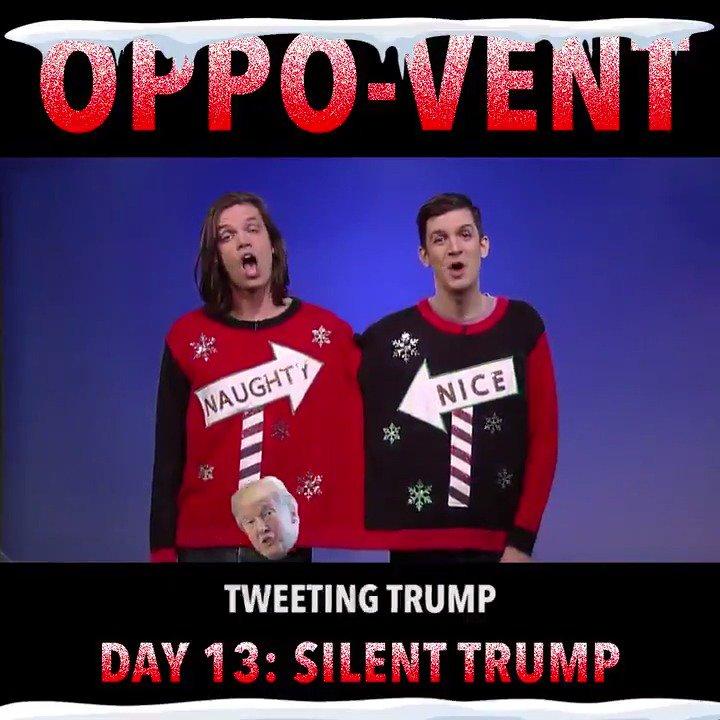 Silent Trump.... Tweeeting Trump.... #25...
