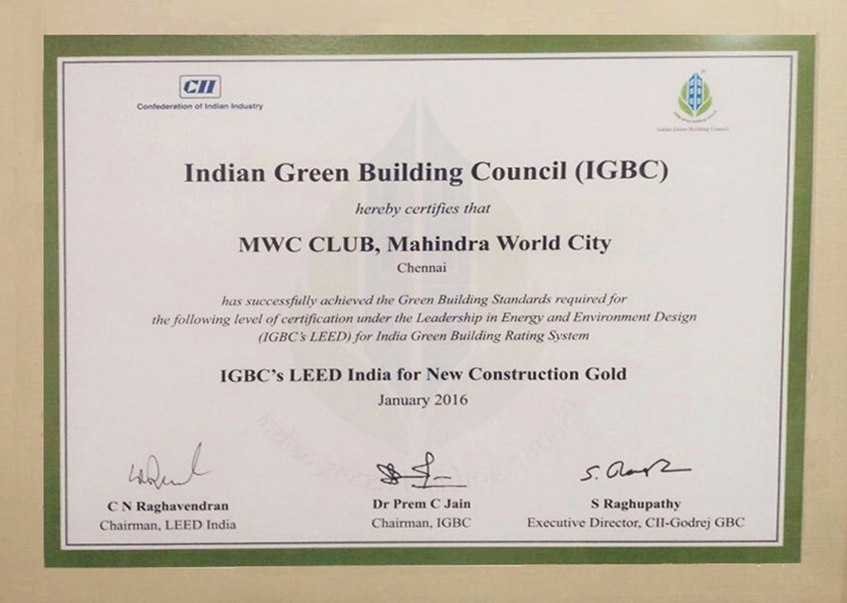Shilpa Architects On Twitter Another Gold Leed Certification For
