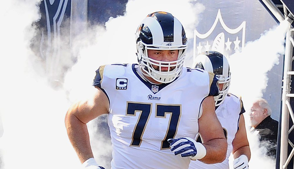 Rams lineman Andrew Whitworth buys bike for every student at L.A. elementary school https://t.co/RAauR4qnNI