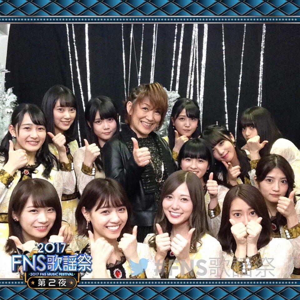 2017年12月13日FNS歌謡祭 第2夜 松本梨香さん