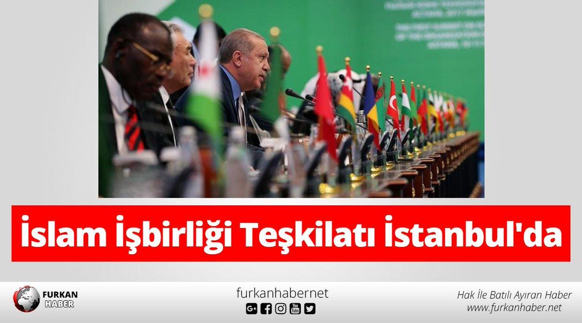 İslam İşbirliği Teşkilatı İstanbul'da ht...