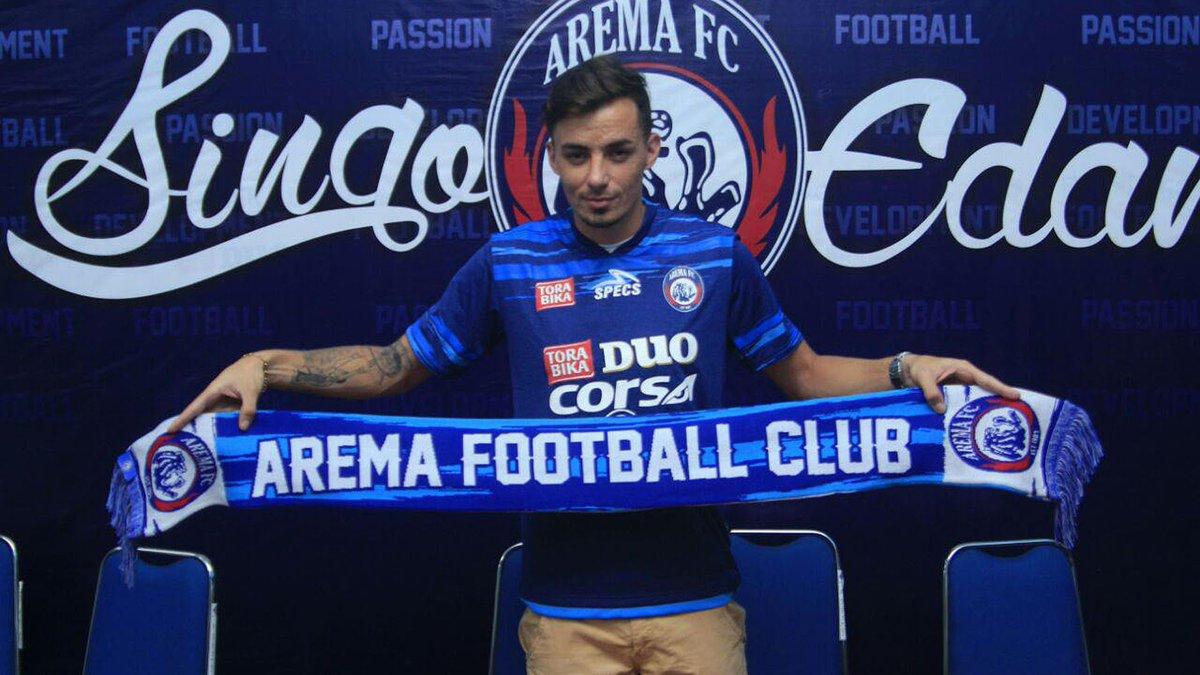 Image result for Arema FC Rodrigo Ost Dos Santos