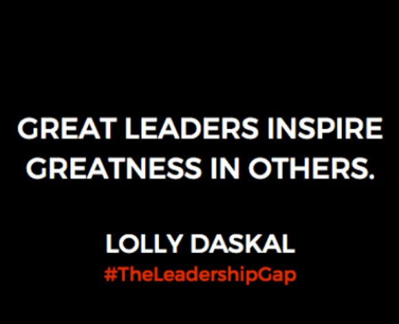 Great leaders inspire greatness in others. ~@LollyDaskal https://t.co/pVKqaI7YVf #TheLeadershipGap