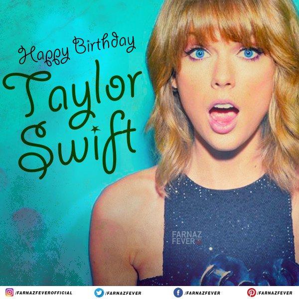 Wishing the pop star Taylor Swift a very Happy Birthday.